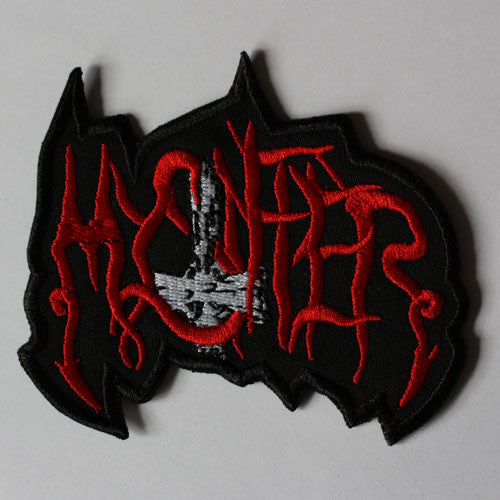 Mystifier - Red Logo (Cutout) (Embroidered Patch)