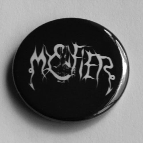 Mystifier - White Logo (Badge)