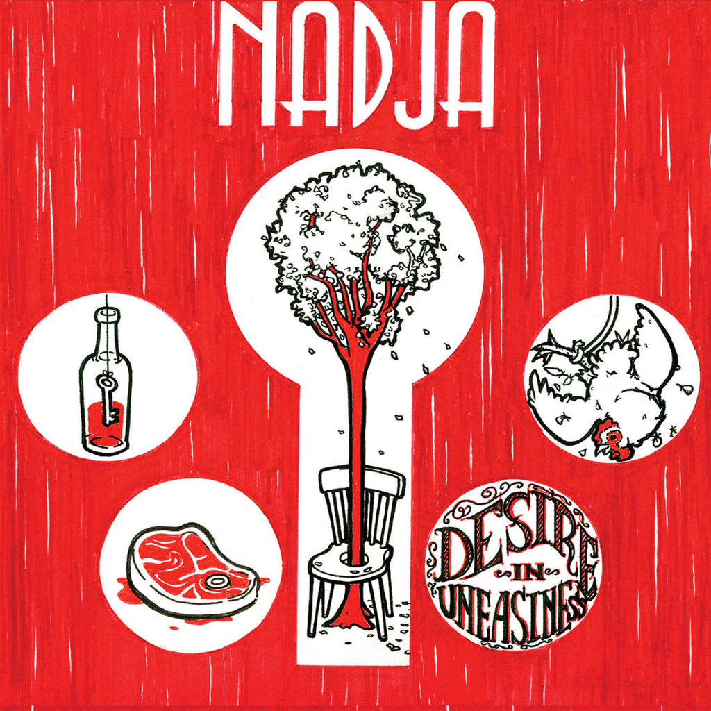 Nadja - Desire in Uneasiness (CD)
