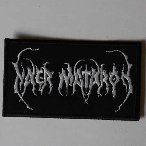 Naer Mataron - White Logo (Embroidered Patch)