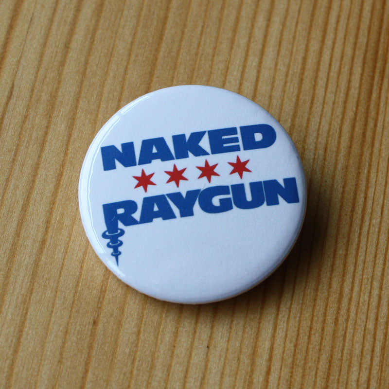 Naked Raygun - Logo (Badge)
