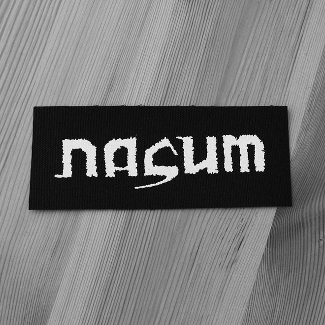 Nasum - Logo (Printed Patch)