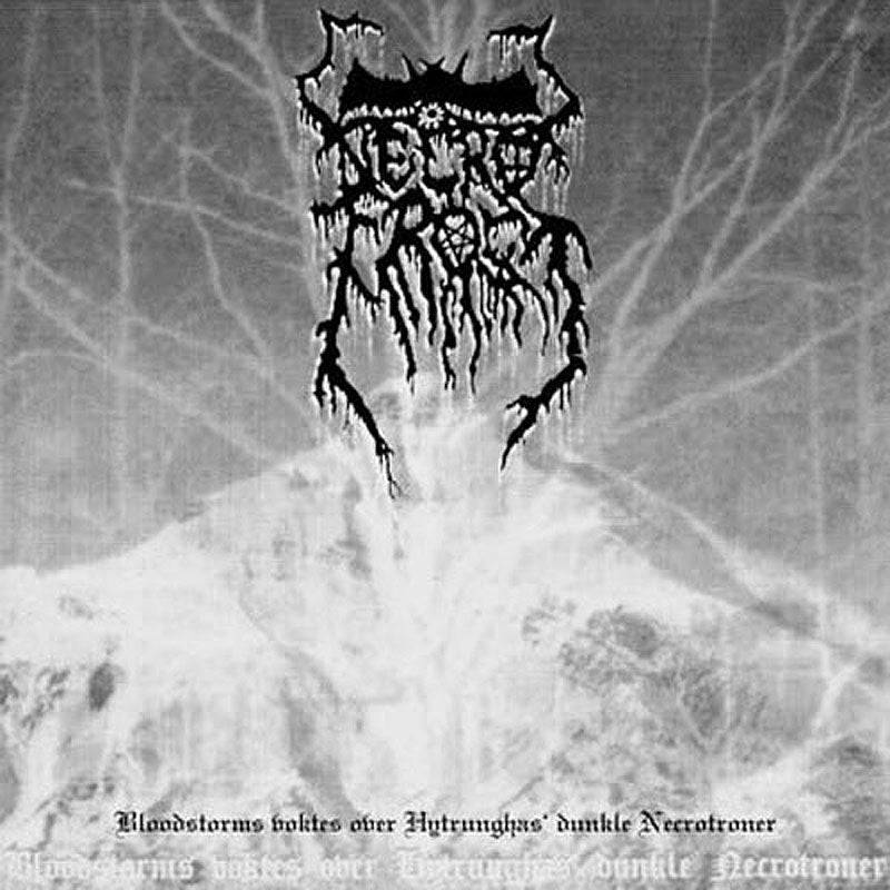 Necrofrost - Bloodstorms Voktes over Hytrungas' Dunkle Necrotroner (2006 Reissue) (CD)
