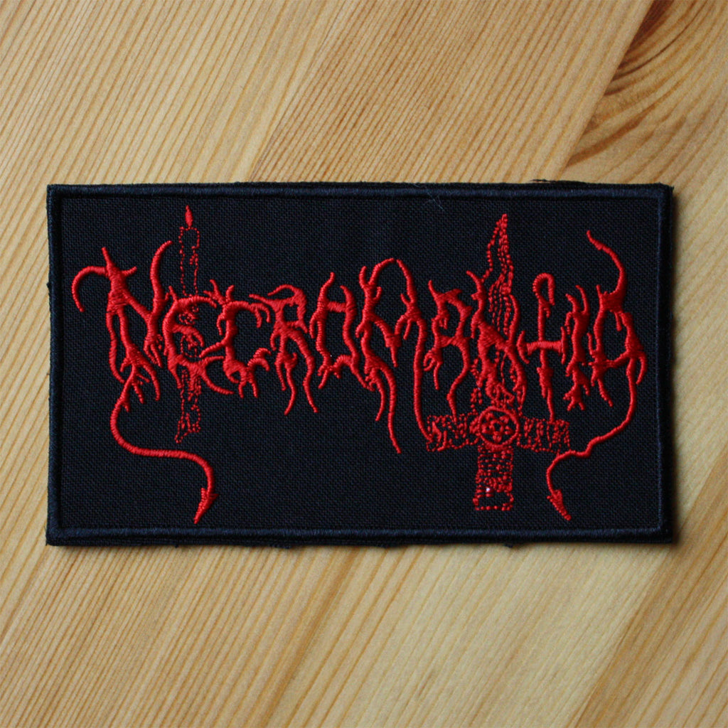 Necromantia - Red Logo (Embroidered Patch)