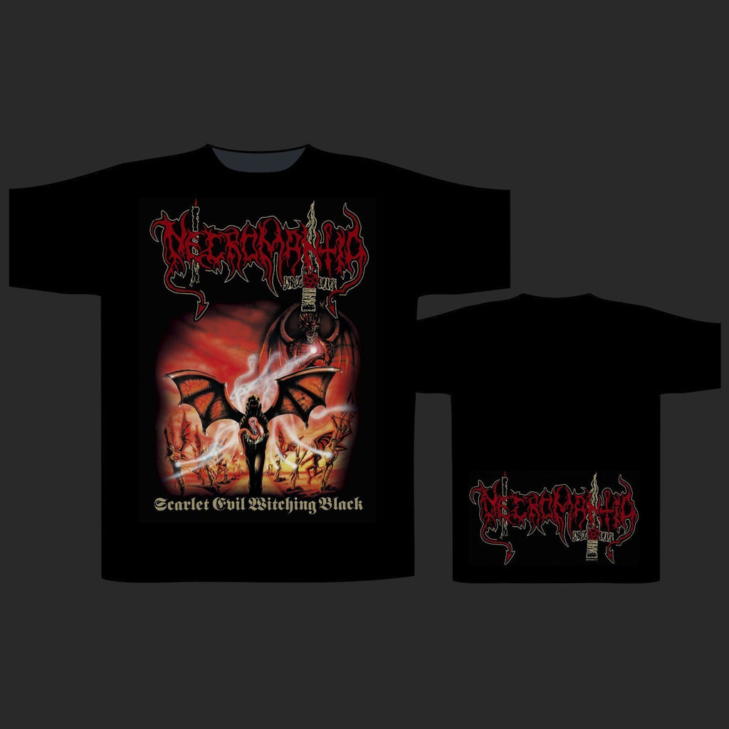 Necromantia - Scarlet Evil Witching Black (T-Shirt)