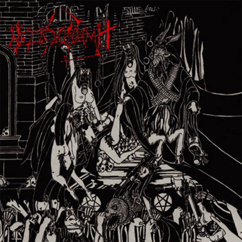 Necrovomit / In League with Satan - NekroAlkoholik Abominations with Satan (CD)