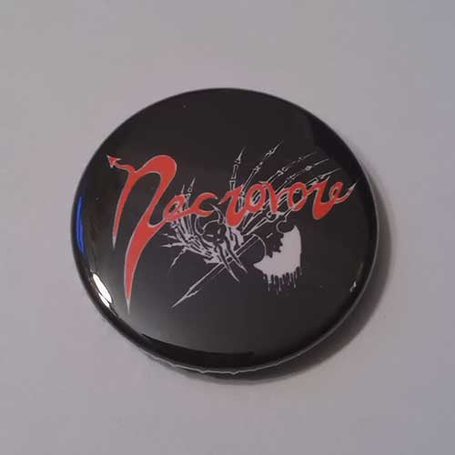 Necrovore - Red Logo (Badge)