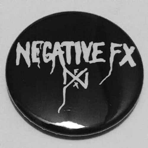 Negative FX - White Logo (Badge)