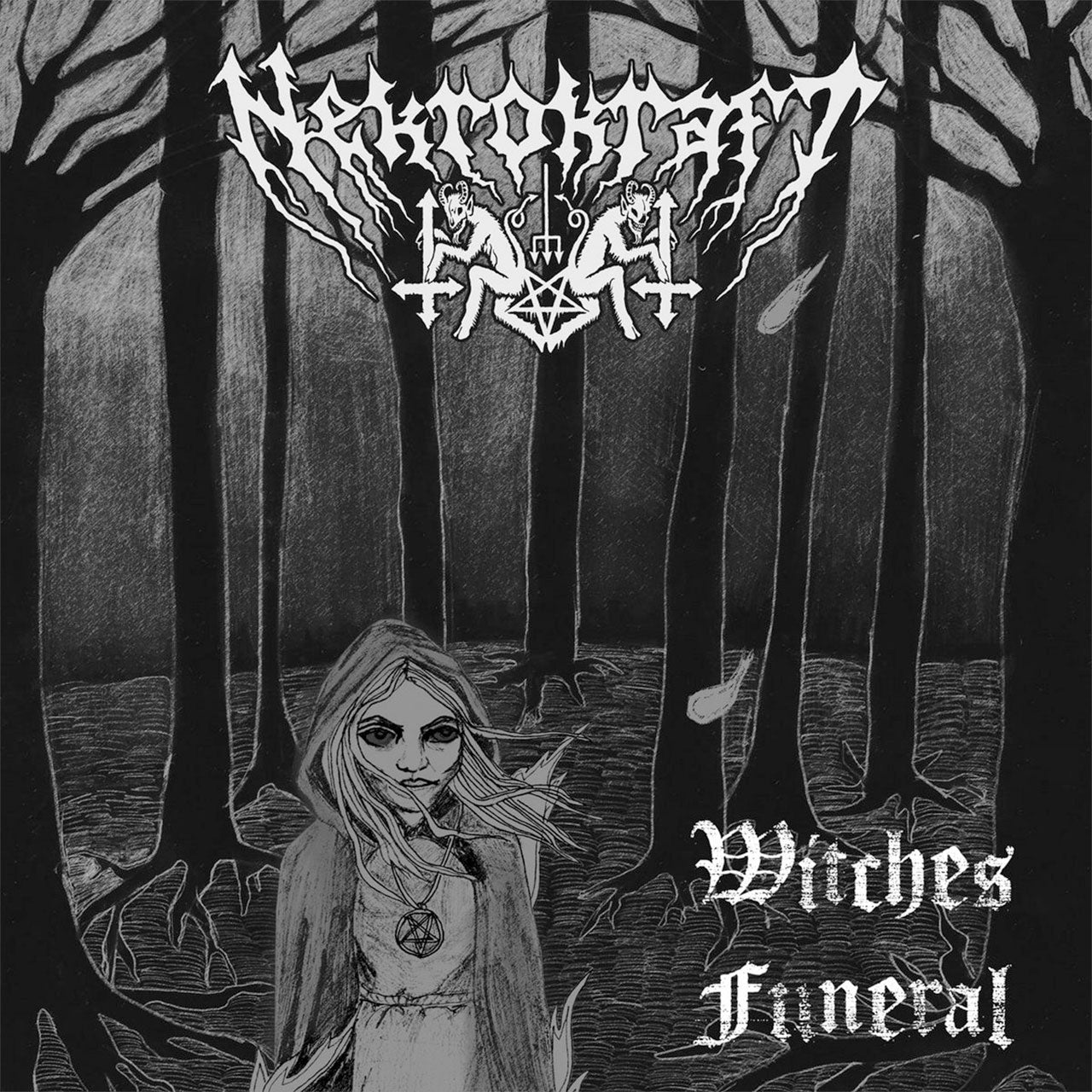 Nekrokraft - Witches Funeral (Digipak CD)