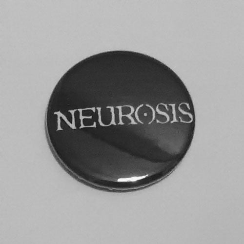Neurosis - White Logo (Badge)