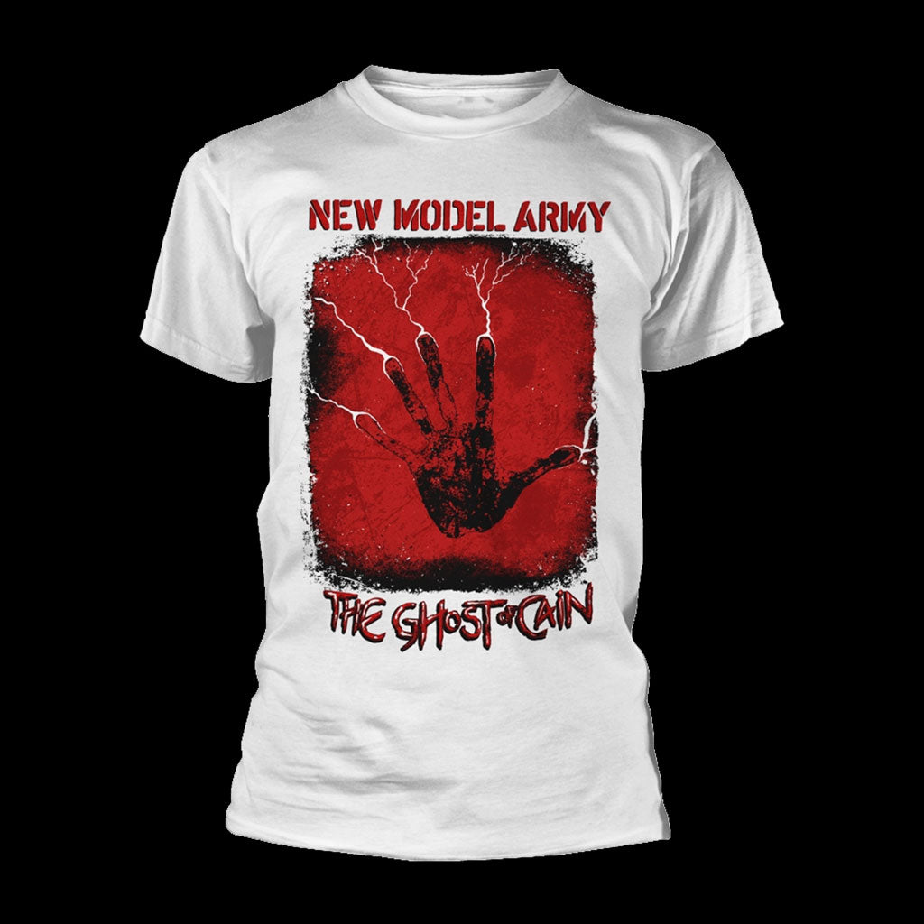 New Model Army - The Ghost of Cain (White) (T-Shirt)
