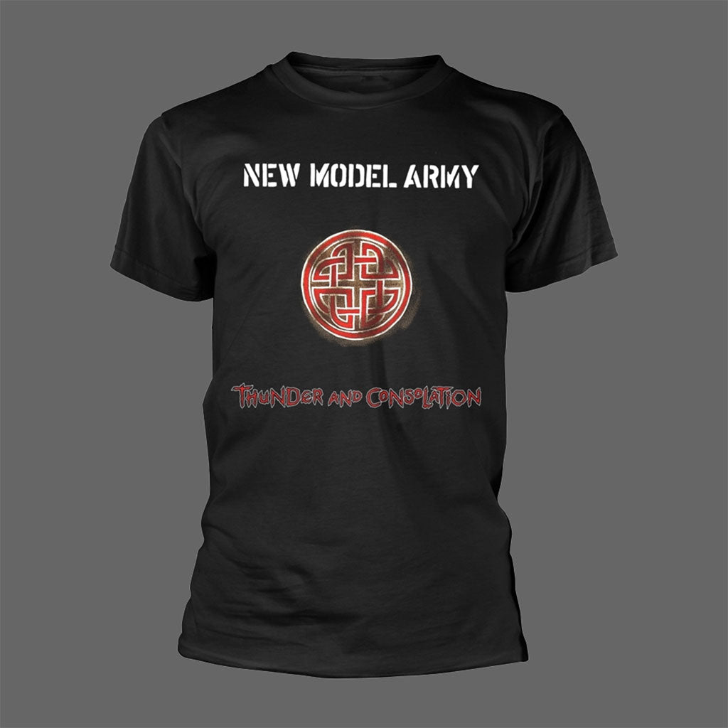 New Model Army - Thunder and Consolation (Black) (T-Shirt)