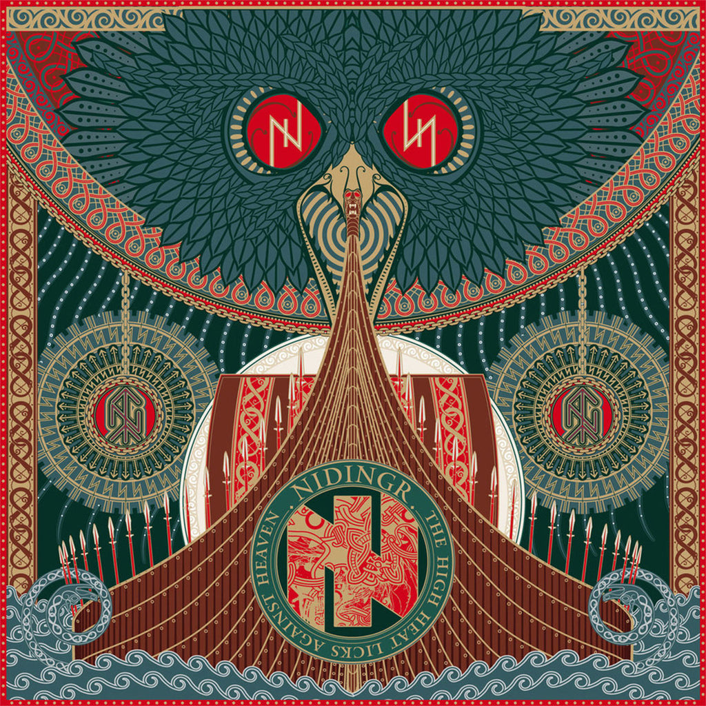 Nidingr - The High Heat Licks Against Heaven (Digipak CD)