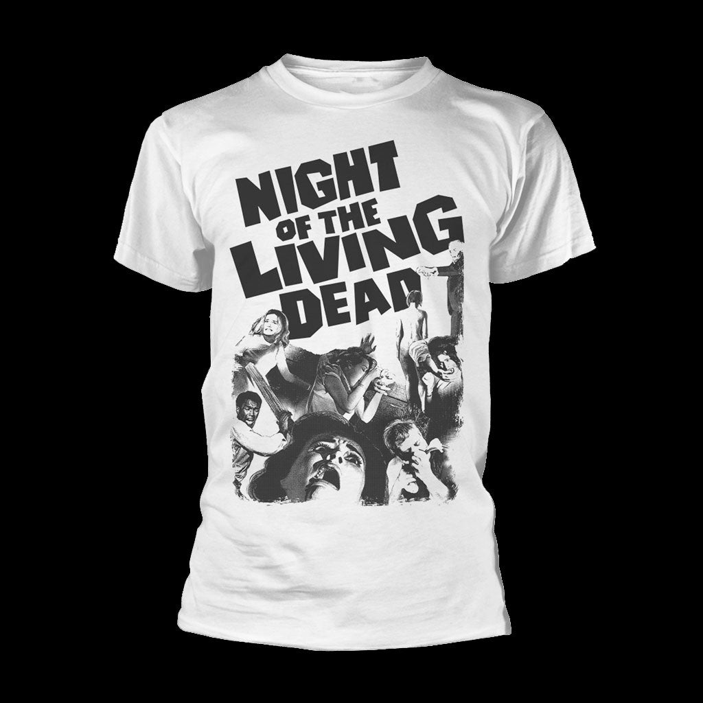 Night of the Living Dead (1968) (White) (T-Shirt)