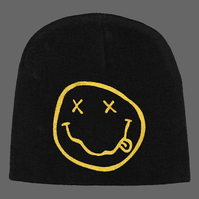 Nirvana - Smiley Face Logo (Beanie)