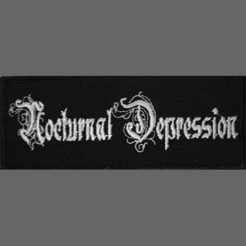 Nocturnal Depression - Logo (Embroidered Patch)