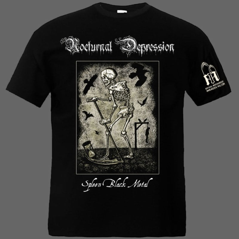 Nocturnal Depression - Spleen Black Metal (T-Shirt)