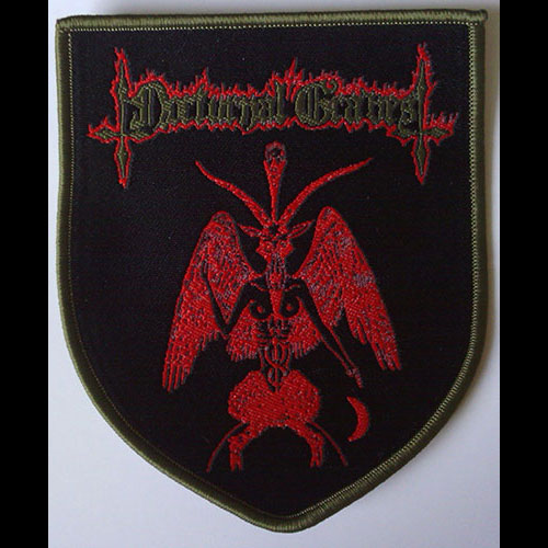 Nocturnal Graves - Baphomet Shield (Woven Patch)