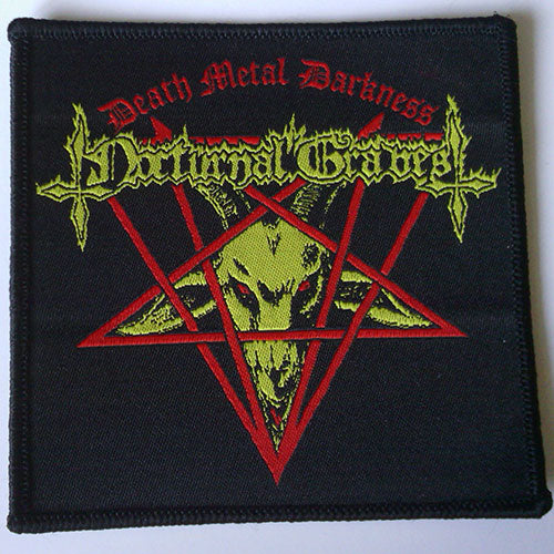 Nocturnal Graves - Death Metal Darkness (Woven Patch)
