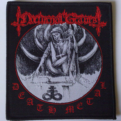Nocturnal Graves - Death Metal (Woven Patch)