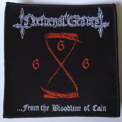 Nocturnal Graves - ...from the Bloodline of Cain (Woven Patch)