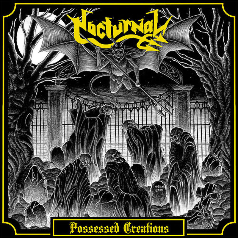Nocturnal - Possessed Creations (CD)