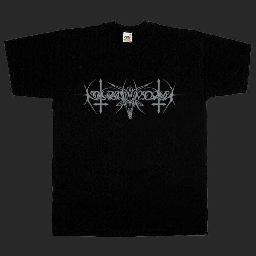 Nokturnal Mortum - Grey Goat Horns Logo (T-Shirt)
