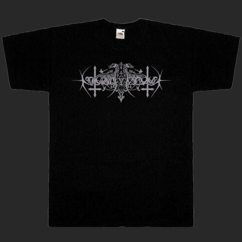 Nokturnal Mortum - Grey Logo / The Voice of Steel Symbol (T-Shirt)