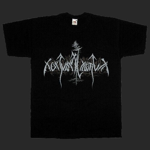 Nokturnal Mortum - Grey New Logo (T-Shirt)