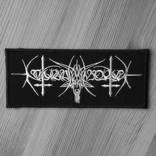 Nokturnal Mortum - Old Logo (Embroidered Patch)