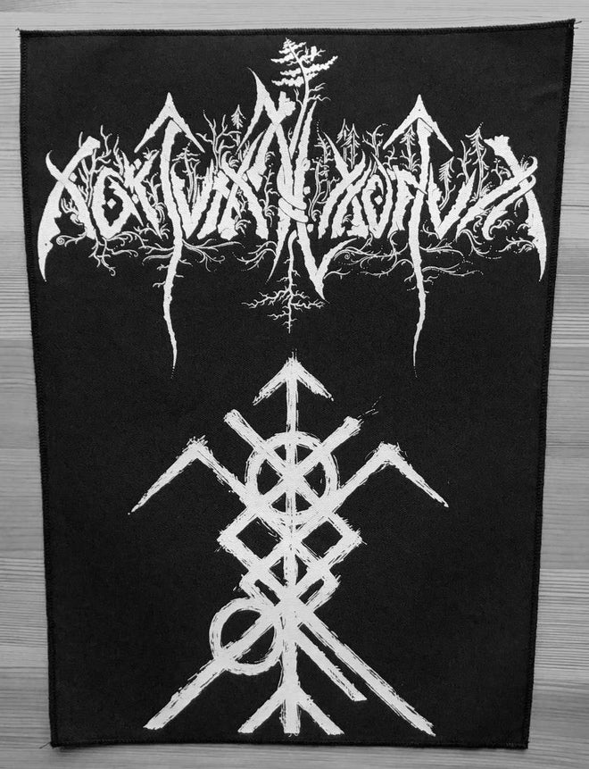 Nokturnal Mortum - New Logo & Symbol (Backpatch)