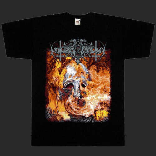 Nokturnal Mortum - The Voice of Steel (Helmet in Flames) (T-Shirt)