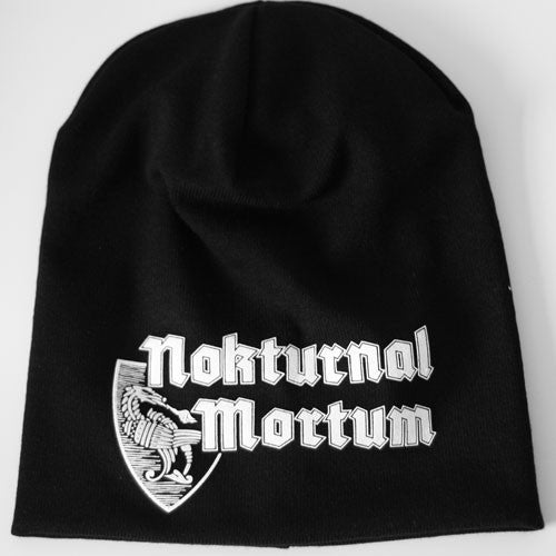 Nokturnal Mortum - White Logo (Beanie)