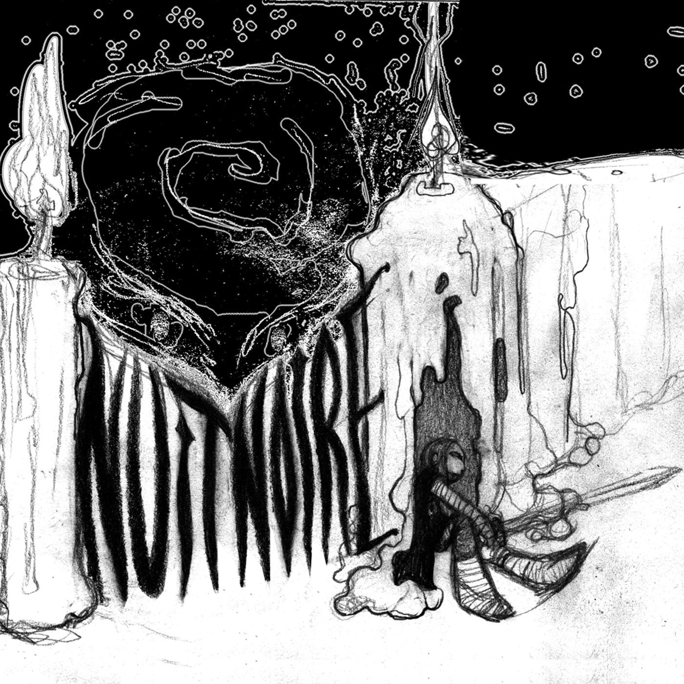 Nuit Noire / His Electro Blue Voice - Split (EP)