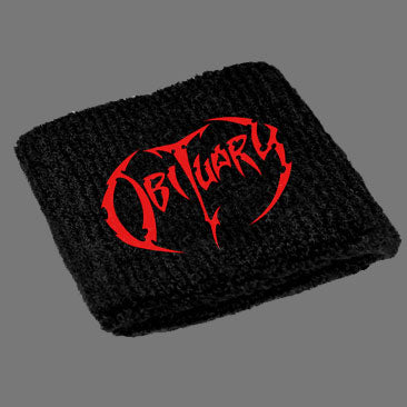Obituary - Logo (Wristband)