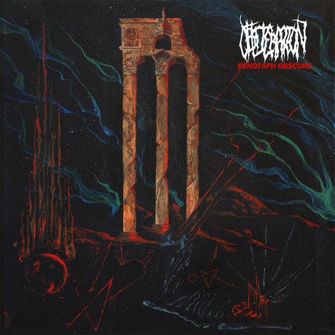 Obliteration - Cenotaph Obscure (Red Edition) (LP)