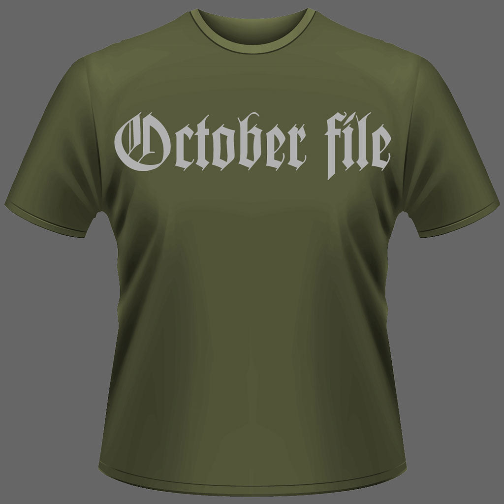 October File - Why Turn this Rape into a Murder (Green) (T-Shirt)