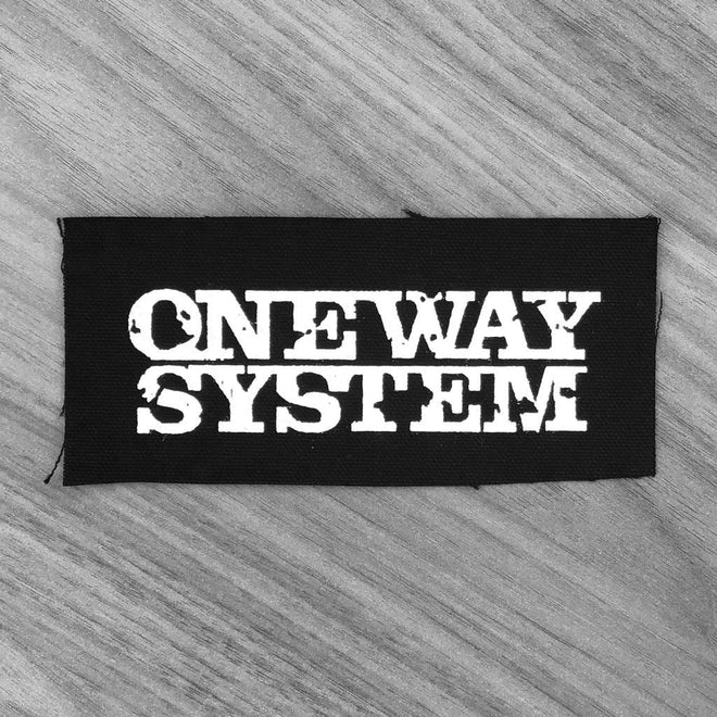 One Way System - Logo (Printed Patch)
