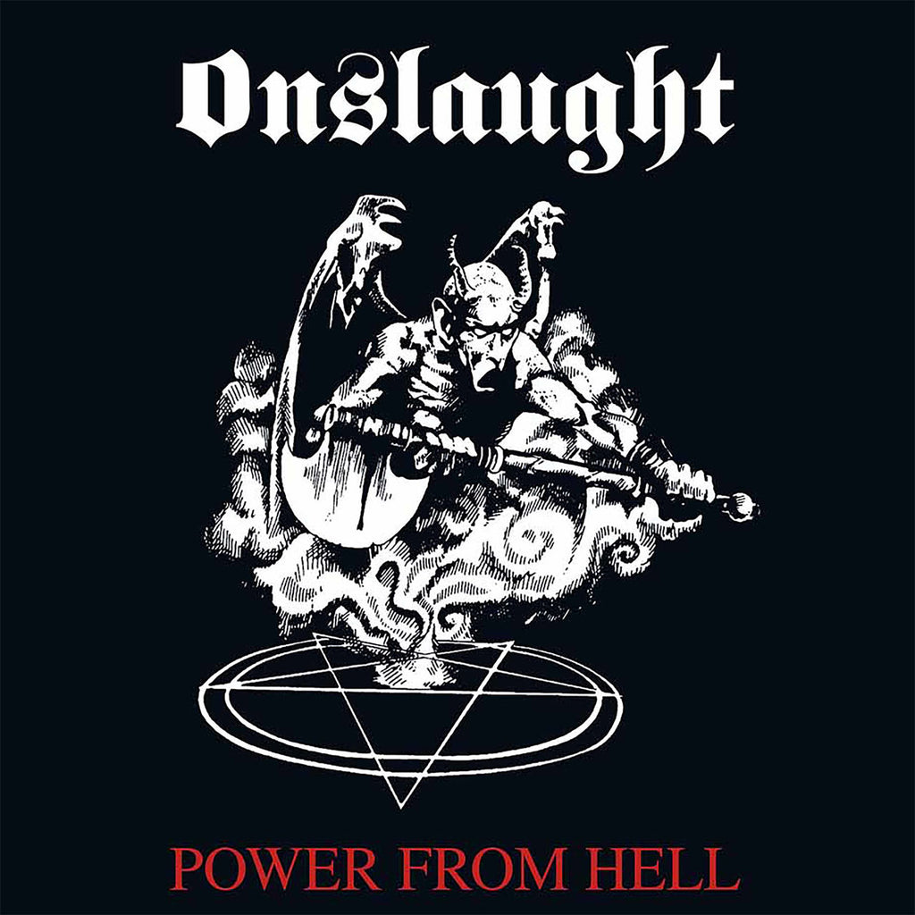 Onslaught - Power from Hell (2011 Reissue) (CD)