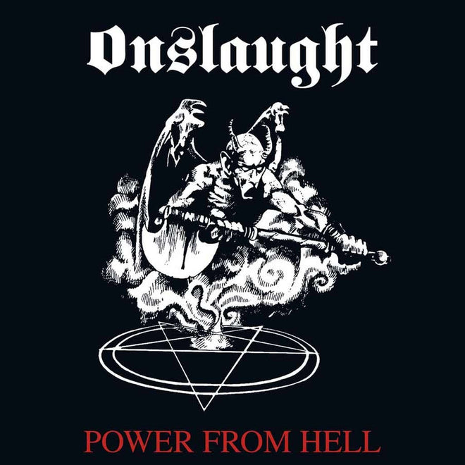 Onslaught - Power from Hell (2018 Reissue) (Digipak CD)