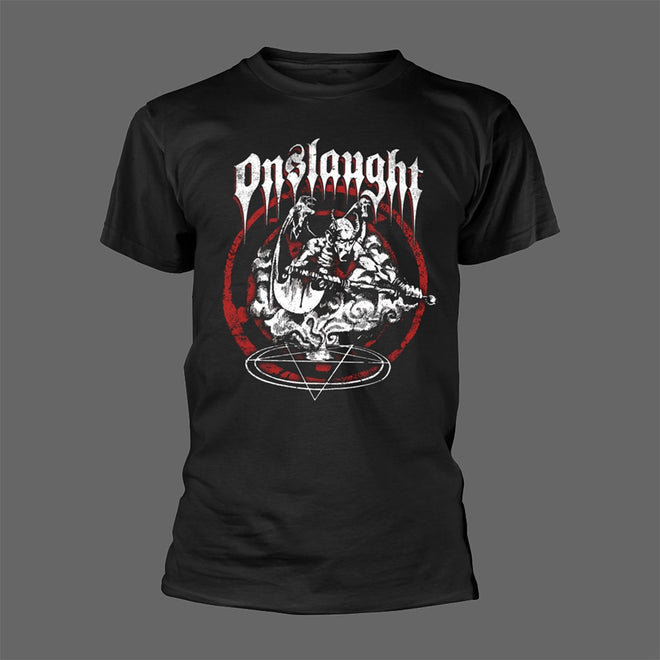 Onslaught - Power from Hell / Red Pentagram (T-Shirt)