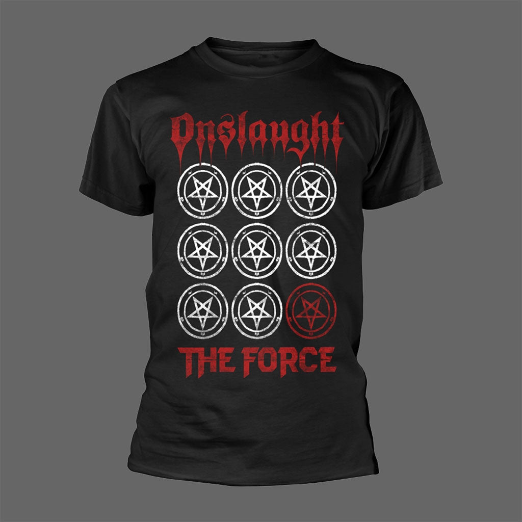Onslaught - The Force (Pentagram Grid) (T-Shirt)