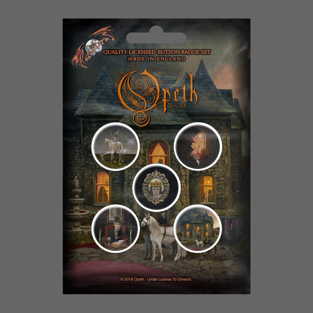 Opeth - In Cauda Venenum (Badge Pack)