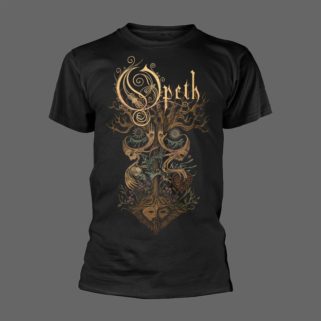 Opeth - Tree (Black) (T-Shirt - Released: 14 May 2021)
