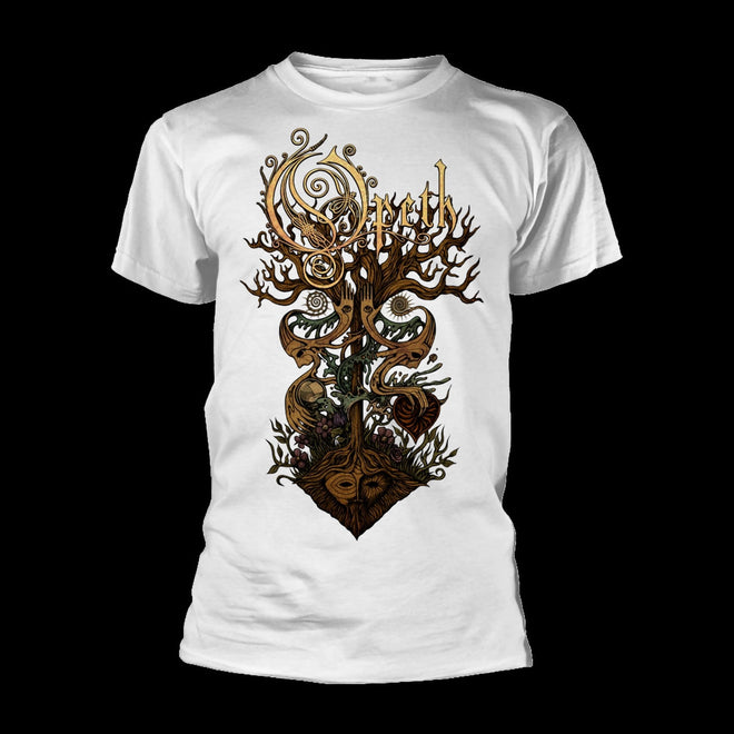 Opeth - Tree (White) (T-Shirt - Released: 14 May 2021)