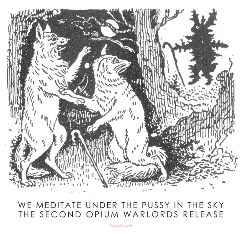 Opium Warlords - We Meditate Under the Pussy in the Sky (CD)