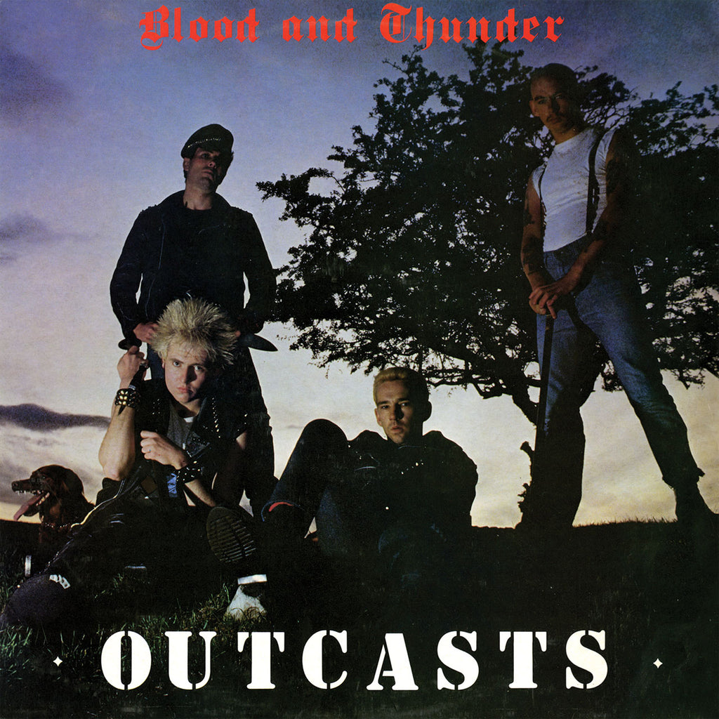 Outcasts - Blood and Thunder (2016 Reissue) (CD)