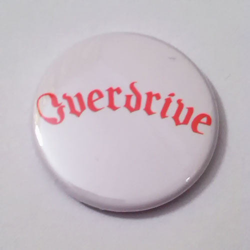 Overdrive - Red Logo (Badge)