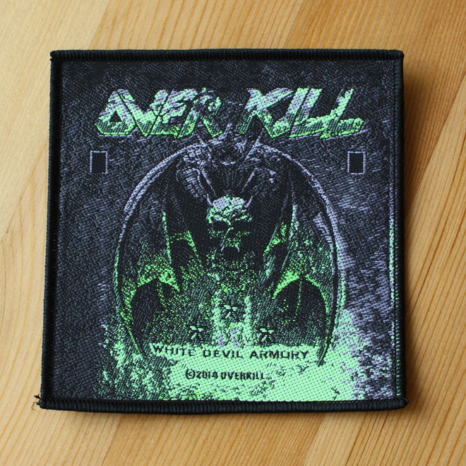 Overkill - White Devil Armory (Woven Patch)