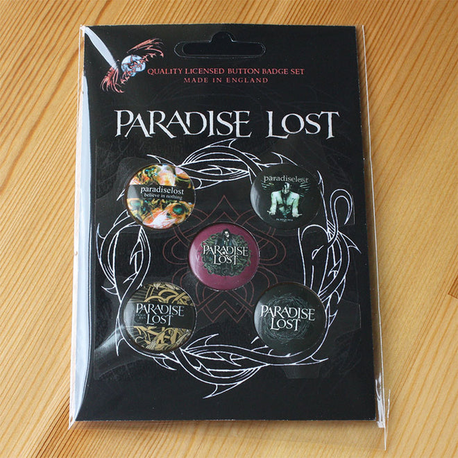 Paradise Lost - Crown of Thorns (Badge Pack)